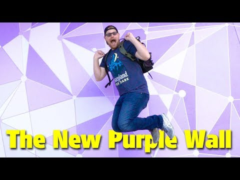 The New Purple Wall, Frozen Mint Julep, and People Mover | Magic Kingdom