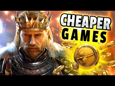 CHEAPER GAMES w/ Amazon Coins - King of Avalon