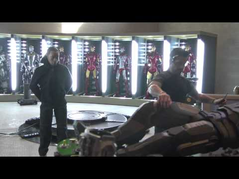 Warmachine Mark 2 Deleted Scene from Iron Man 3 comic book