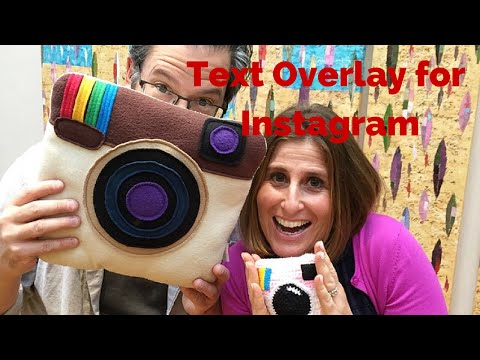 Text Overlay for Instagram with Joel Comm