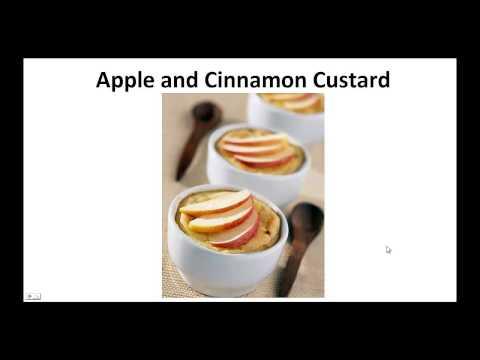 Paleo Desserts - Apple and Cinnamon Custard By A Former Diabetic