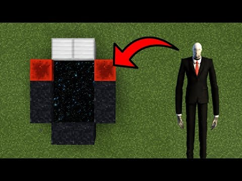 How To Make a Portal to the Slenderman Dimension in Minecraft (Pocket Edition)