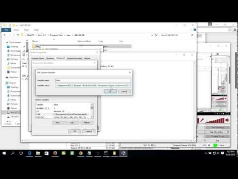 Set Path to JDK 8 on Windows 10