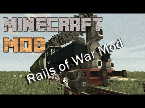 Minecraft Mods : Rails of War Mod | 1.7.10 / 1.7.2 / 1.6.4 | ITA