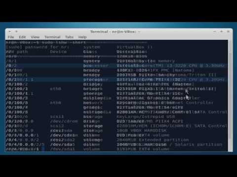 Hardware information on Linux