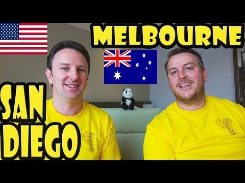 Melbourne Australia vs San Diego USA