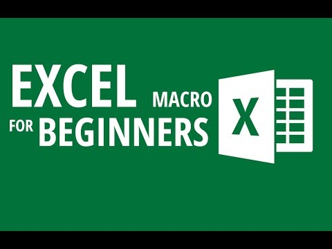 How to Record Read & Edit Excel macro for beginners - Excel VBA