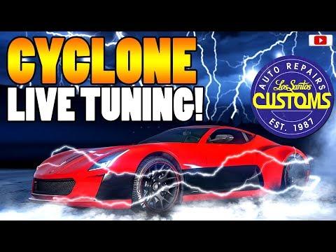 🤑Das Beste Elektro Tuning Auto! CYCLONE Live Tuning!🤑[GTA 5 Online Smugglers Run Update DLC]