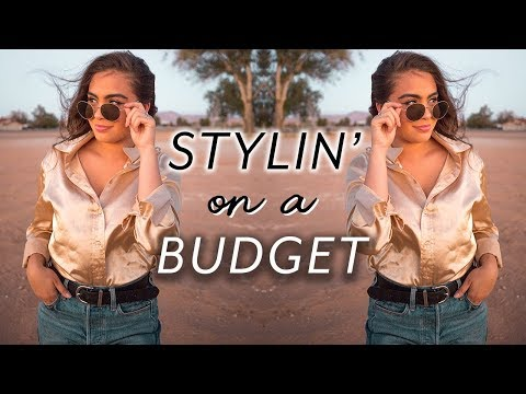 11 WAYS TO BE STYLISH ON A BUDGET ♡