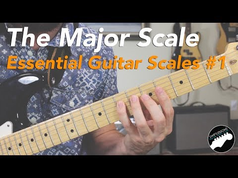 How to Play the Major Scale - Essential Guitar Scales Lesson #1