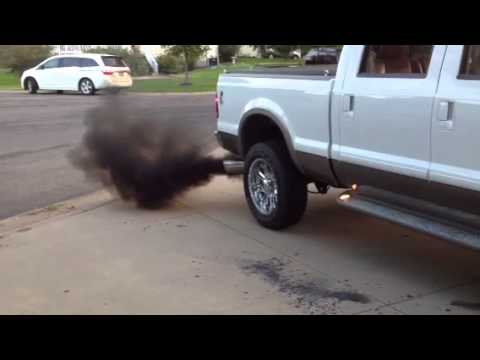 6.0 PowerStroke rolling coal
