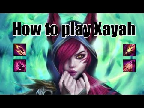How to play Xayah - League Of Legends Guide