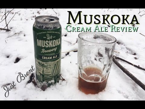 Muskoka Cream Ale Review | Just Brent