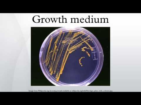 Growth medium