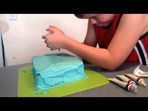 Easy DIY Cake Decor : Kolbys cake (my 9yo son )