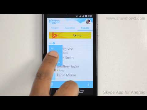 Skype Android App - How To Unblock A Contact