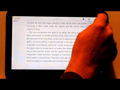Review: Kindle 3.0 for Android Tablets App on Motorola XOOM