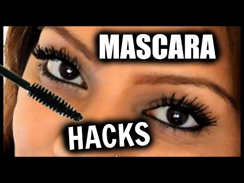 10 Mascara HACKS To Make Lashes Look LONGER, THICKER, FULLER EYELASHES!! │Get Long Lashes Instantly!