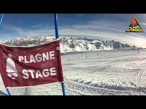 Plagne Stage Slalom Toussaint 2013