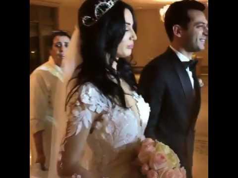 Xxx Mp4 Imane Elbani And Murat Yildirim Wedding زفة مراد بطل عاصي و ايمان الباني 3gp Sex