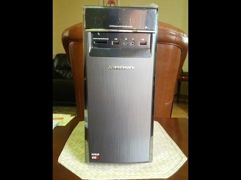Lenovo H50 Desktop unboxing