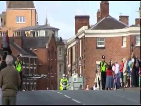 Royal Irish Regiment Welcomed To Shrewsbury