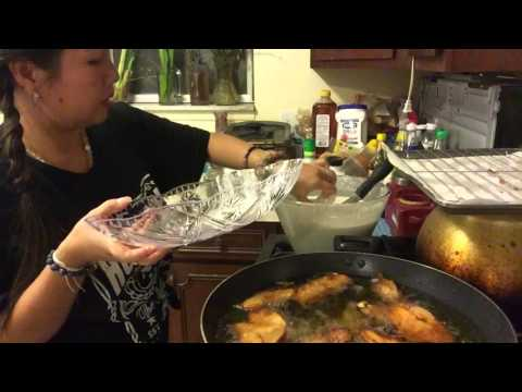 Making Crispy Thai Bananas part 2