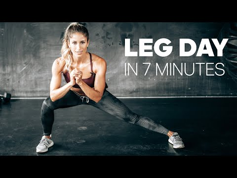 At Home Butt & Thigh Fat Burning: 6 Exercises for AMAZING Legs