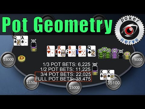 Poker Bet Sizing And Pot Geometry