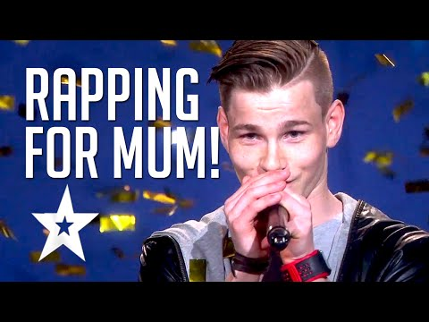 'Million Questions' Patrick Jørgensen   Rap For His Mum By Norwegian Rapper   Got Talent Global
