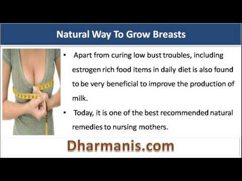 Natural And Safe Way To Help Your Breasts Grow Fast