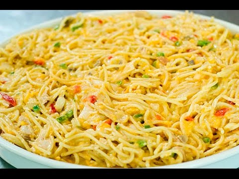 Chicken Spaghetti Recipe By Food In 5 Minutes