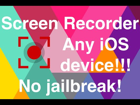 SCREEN RECORDER IOS 6-8 ANY iPhone, iPad, iPod Touch NO JAILBREAK, FREE!!!