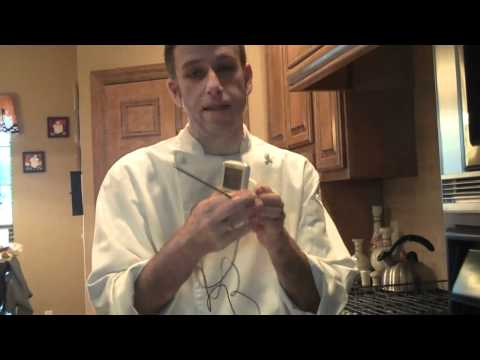 Chef Dave Tips...  How To Use A Meat Thermometer