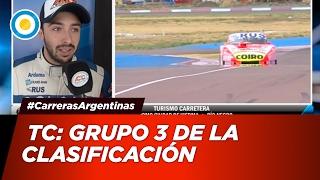 Automovilismo - Grupo 3 de la Clasificación del TC para la Fecha 1