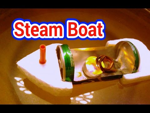 How to make a steam boat