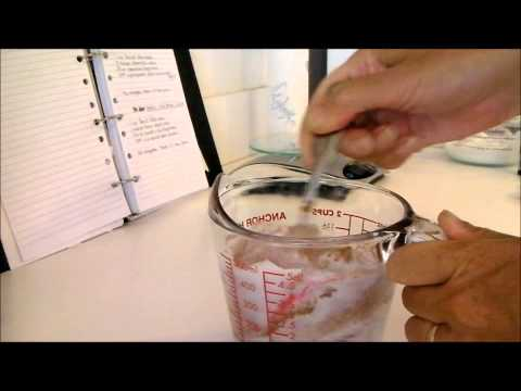 Making Apricot and Fig Facial Scrub