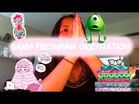 Get Ready With Me || Freshman Orientation