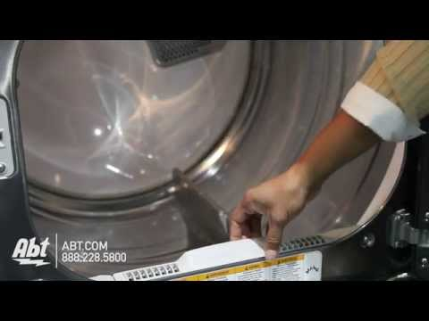 LG High Efficiency Gas Dryer DLGX5681 Overview