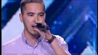 Нурмухаммед Нусипкожанов. X Factor Казахстан. Прослушивания. Вторая серия. Пятый сезон.