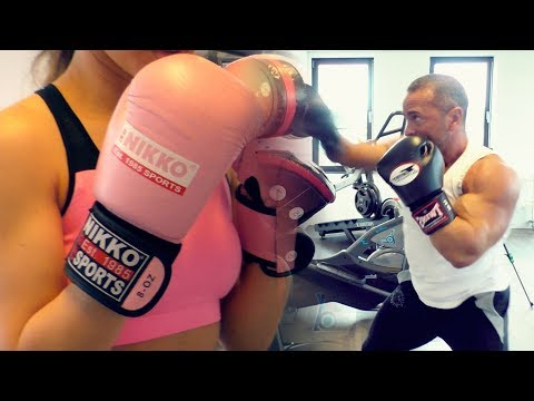 BOXING WORKOUT WITH MY TRAINER   2018