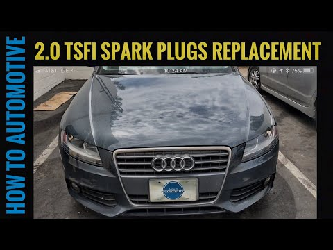 How to Replace Spark Plugs on a 2009-2016 Audi A4 2.0 TSFI