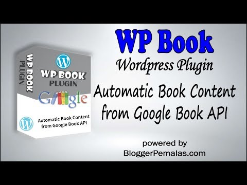 WP Book ~ Easily Create Book Content for Your Wordpress Blog