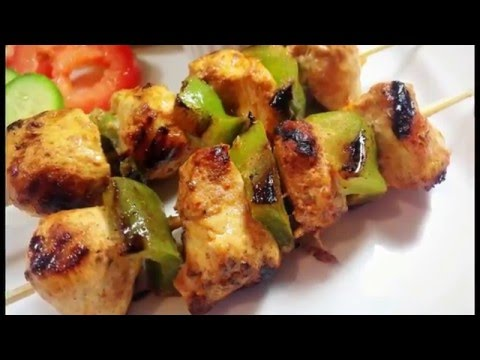 Shish Taouk Chicken Kebab Recipe by (HUMA IN THE KITCHEN)