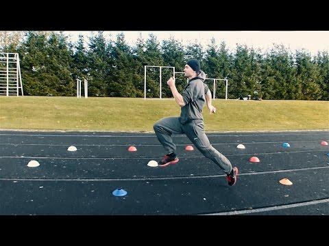 Sprint stride length training →2.6m←