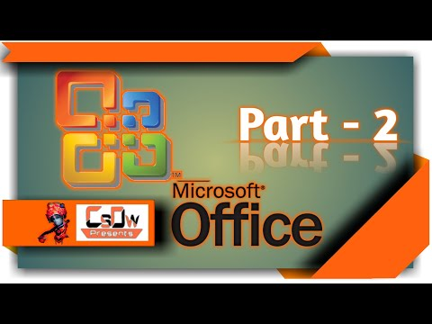 Microsoft office word Tutorial part -2, Font style edit,indent tool, title bar,status bar,