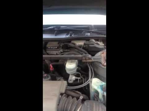 Testing fluids and oil: 98 Pontiac bonneville