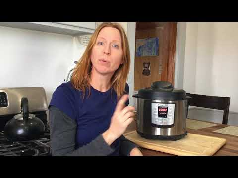 Instant Pot Session 6: How to do a Quick Release