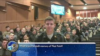 Space Station Crew Discusses Life in Space with West Point Cadets