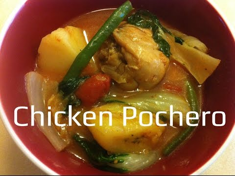 Chicken Pochero ( chicken stew in tomato sauce with vegetables)